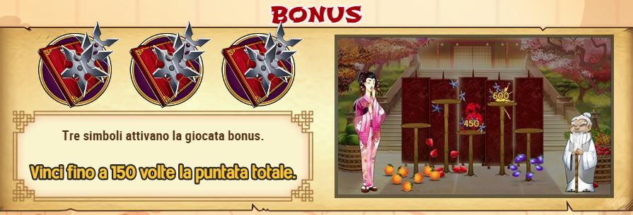 Ninja Fruits Bonus