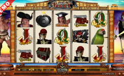 pirate's bounty slot machine online senza deposito