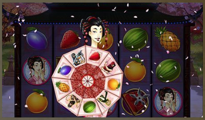 Slot Machine Ninja Fruits Gioco Bonus