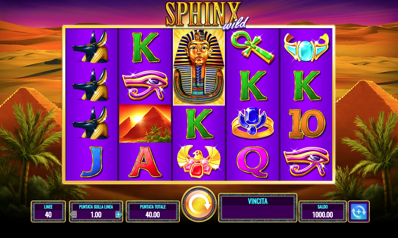 Slot machine gratis online sphinx free slots for fun apps