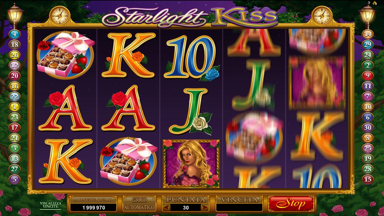 Kiss online slot machine