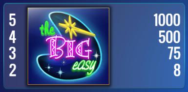 The Big Easy Slot Online Gratis   Simbolo 1