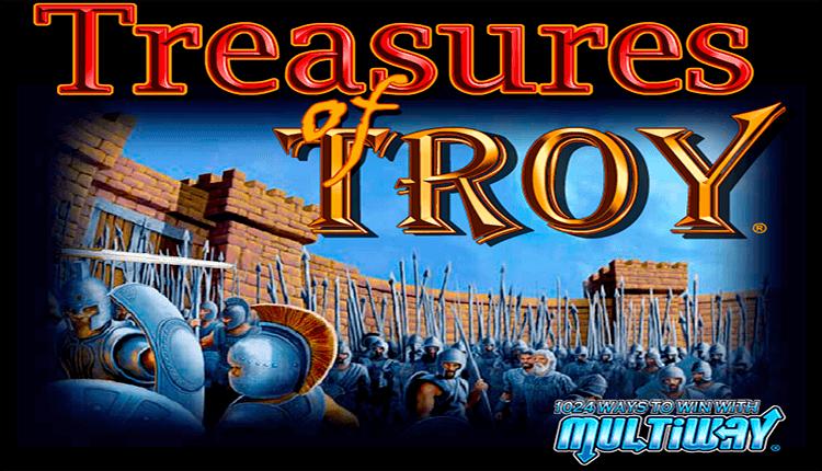 Treasure of troy slot machine
