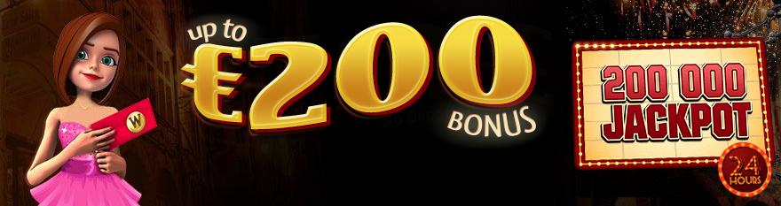 Winorama Casino Bonus di Benvenuto